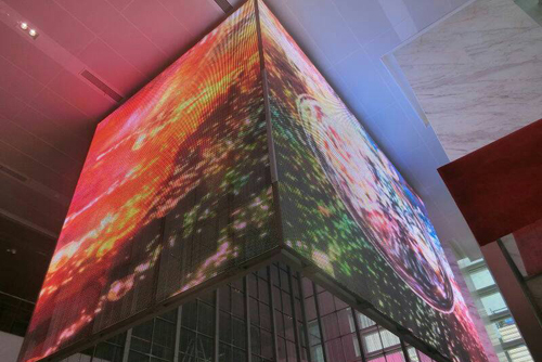 LED Display With High Level Of Transparency