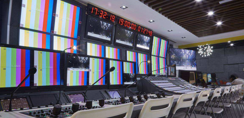 Broadcast Multimedia Video Wall